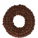 groothandel Kunstbloemen: Amberboomkrans D25cm, naturel